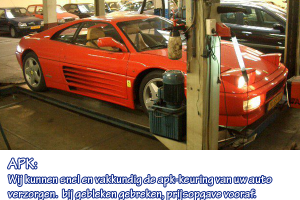 APK Garage Ooms Haarlem